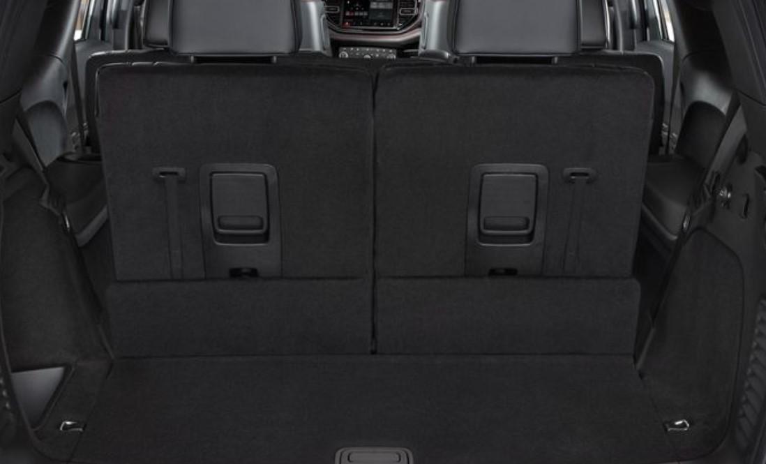 2021 Dodge Durango Hellcat Cargo Space