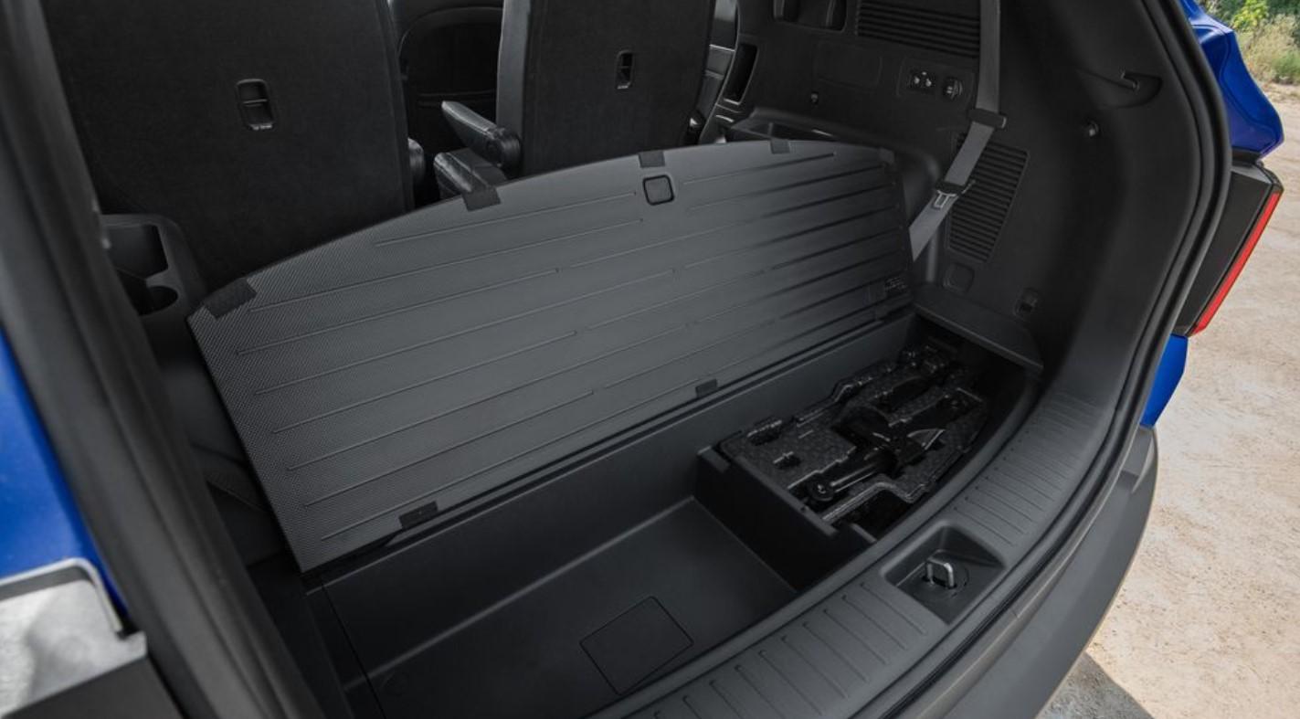 2021 Kia Sorento X-Line Cargo Space