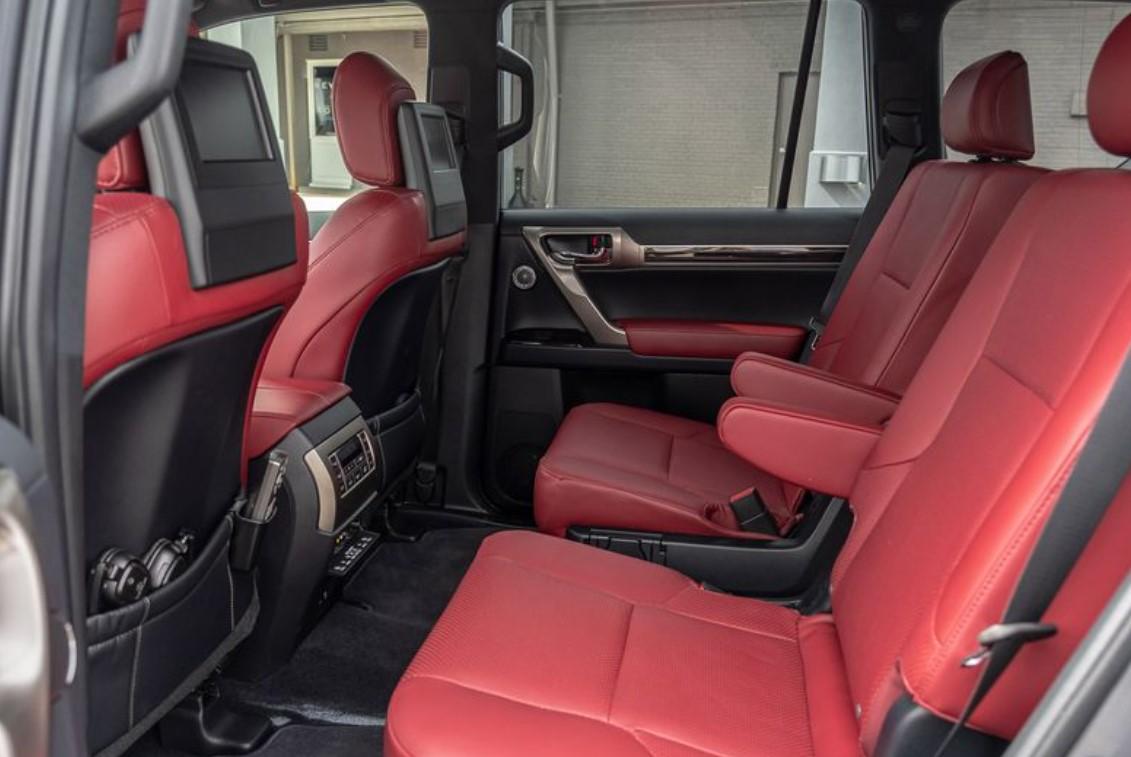 2021 Lexus GX460 Change