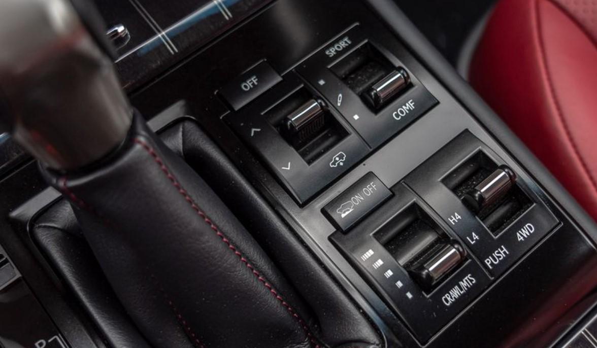 2021 Lexus GX460 Premier Options Specs
