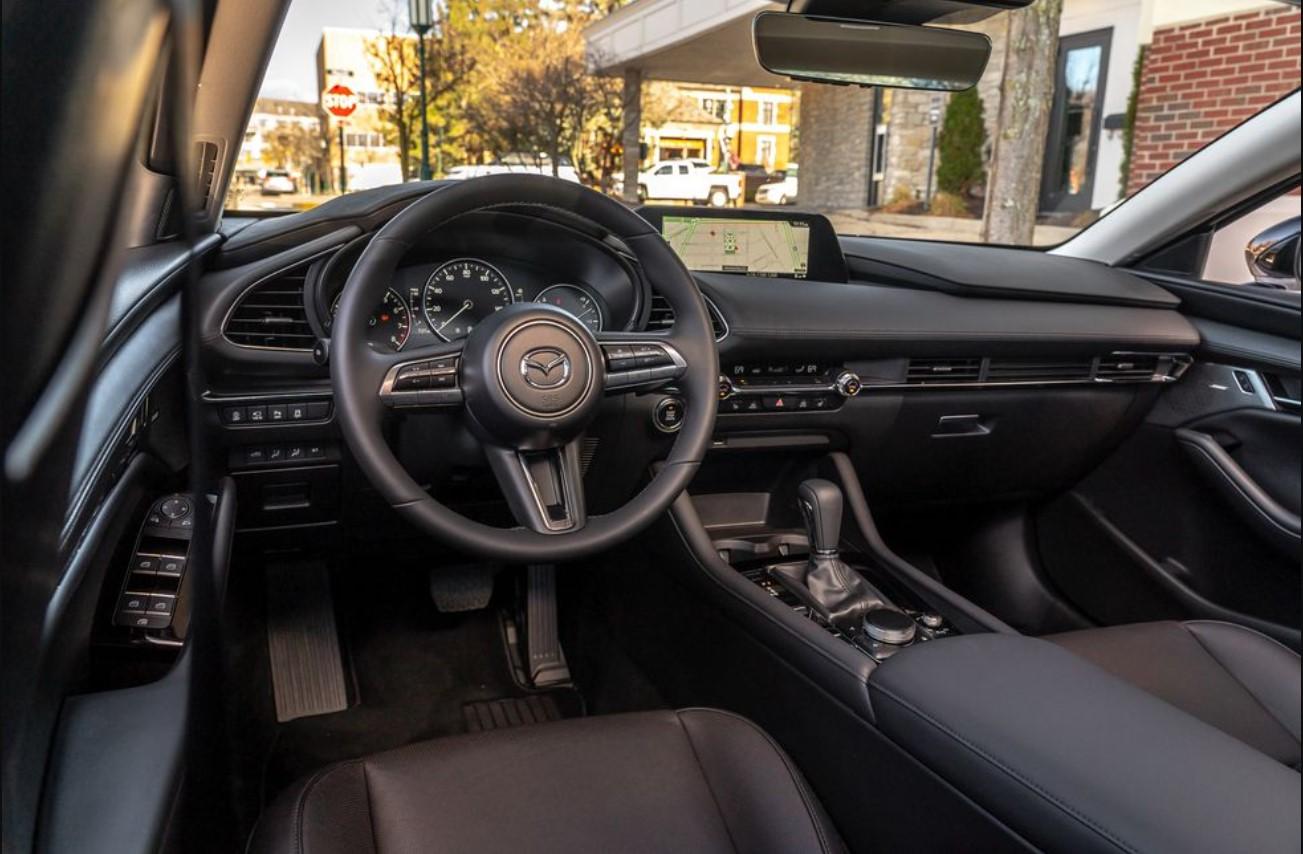 2021 Mazda 3 Turbo Interior